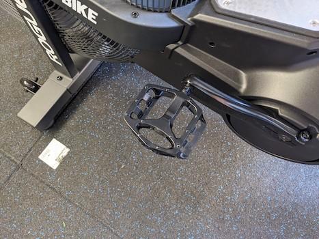 Echo bike pedal