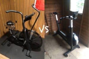 Air bike vs bikeerg feature image