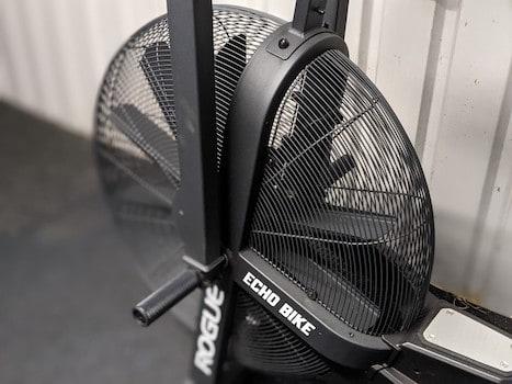Rogue Echo bike 10 blade fan