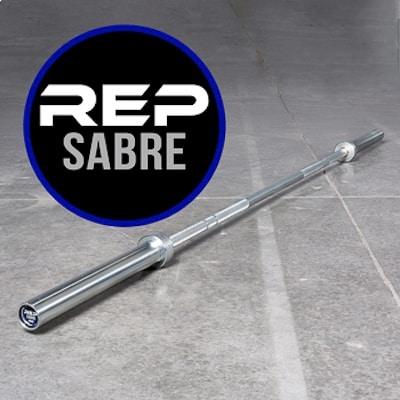 Rep Sabre womne's crossfit barbell graphic