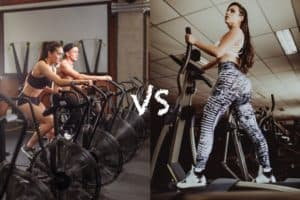 air bike vs elliptical feature image