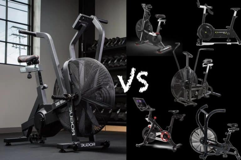 Rogue Echo Bike vs The Competition