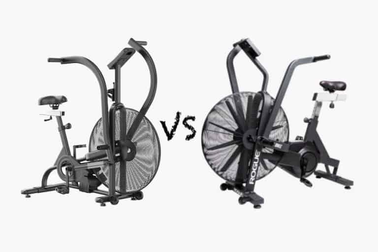 Xebex air bike vs Rogue Echo bike