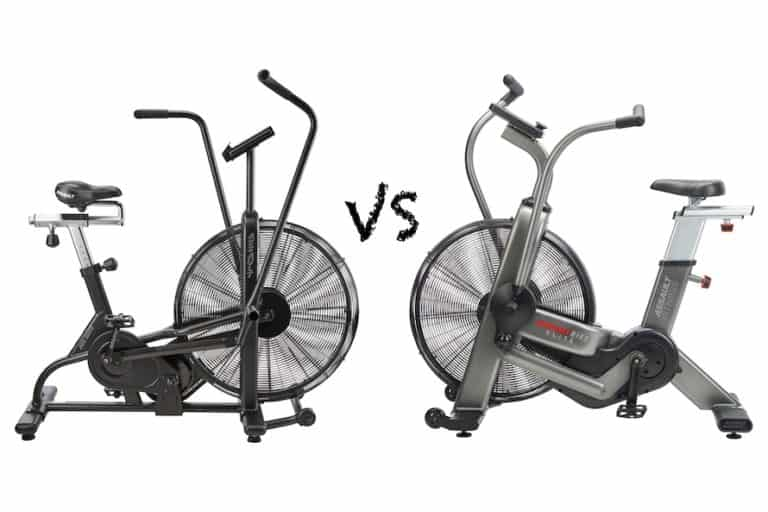 Assault bike classic vs elite comparison image